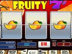 Lucky Fruity 7's Slots